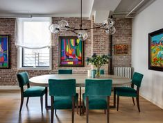 in love with this colorful loft