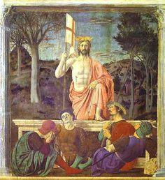 Resurrection of Christ, by Piero della Francesca