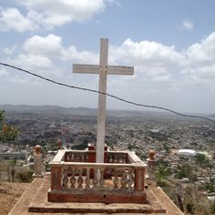 Holguin, Cuba. Hill on the Cross...been here! Amazing view but 472 stairs to the top. Love it!