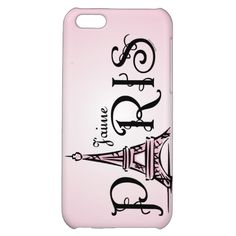 J'aime Paris Case For iPhone 5C