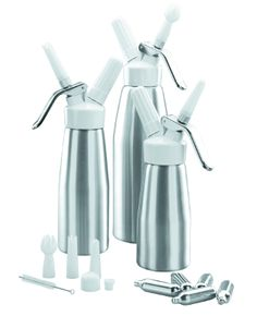 Siphon à chantilly - aluminium Mousse Fruit, Real Unicorn, Toothbrush Holder, Unicorns, Kitchen, Products, Whipped Cream, Wine Bottles, Preserve