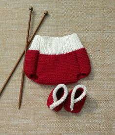 Hand Knitted Baby Bloomers Knickers Soaker by HandKnittedYorkshire