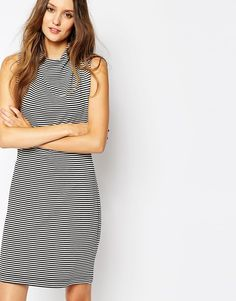 French Connection Liquorice Lines Dress