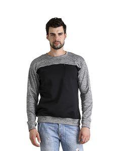 Dark & Light Grey Sweat Shirt – Atheno India