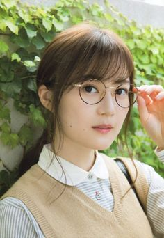 Beautiful Japanese Girl, Japanese Beauty, Beautiful Asian Girls, Gorgeous Women, Asian Beauty, Cute Glasses, Girls With Glasses, Japanese Girl Group, Beauty Shots