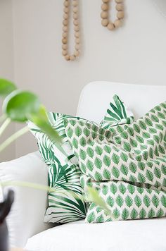 Leafy Pillow Prints                                                                                                                                                                                 More