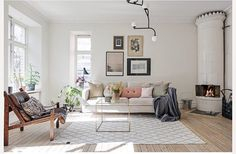 "5,977 tykkäystä, 27 kommenttia - NORDIK SPACE (@nordikspace) Instagramissa: ""Living room inspo! via @alvhem #scandinavian #interior #livingroom #simplicity #whiteliving"""