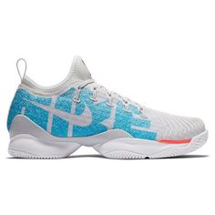 d3356e5440234 Nike Air Zoom Ultra React Womens Tennis Shoe - Pure Platinum Blue Nebula
