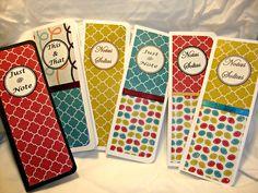 Skinny Note Pads  #Notepad #Mycrafts #Blocodenotas