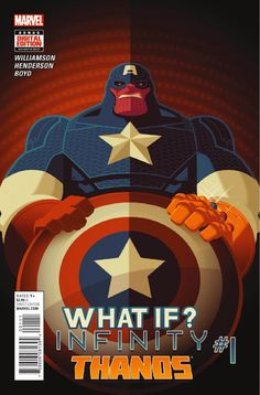 Preview: What If? Infinity: Thanos #1,   What If? Infinity: Thanos #1 Story: Joshua Williams Art: Mike Henderson Cover: Tom Whalen Publisher: Marvel Publication Date: October 7th, 20...,  #All-Comic #All-ComicPreviews #Comics #JOSHUAWILLIAMS #Marvel #MikeHenderson #previews #TomWhalen #WHATIF?INFINITY–THANOS
