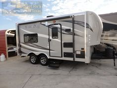 16ft - BP - 2015 - Easy To Pull Store Work And Play WPT 16 - $21,995.00 Nothing beats getting out in the great outdoors with the big boy toys unless it is getting them out in this super cool bumper pull Work and Play Toy Hauler! Measuring only 16ft you can even park this one in the garage!