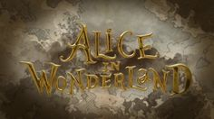The Alice in wonderland title sequence is very clever with the way you as a viewer almost glide through the whole story in illustrations (which are very similar if not the same as the ones in the original book).