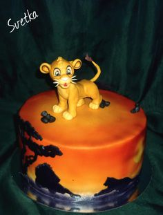 Симба/ Simba - Cake by Svetka80