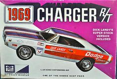 MPC 1969 Charger R/T box art