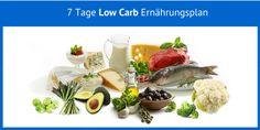 7 Tage Low Carb Ernaehrungsplan