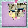 www.whereurbookbegins.com  How fantastic! Create 12x12 pages for your scrapbooks digitally! Catch up on all those photos!  Love this cute gymnastics page!