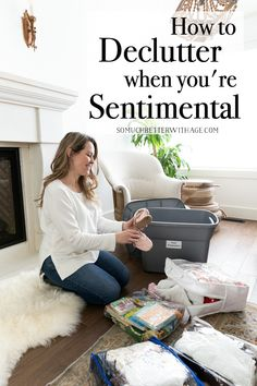 Are you a sentimental person? Then this post is for you! All the tips and methods to use for decluttering your home when you're sentimental. Decluttering Ideas Feeling Overwhelmed, School Report Card, Clutter Control, Declutter Your Life, Clutter Organization, Kids Artwork, Organizing Your Home, Organising, Organizing Ideas