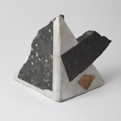 Metamorphic Rock Bookend by Chen Chen & Kai Williams --- what to do with ceramic pieces