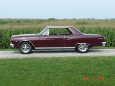 Very nice driver 1965 Chevelle Malibu SS, 138 on vin tag. Correct Madeira Maroon repaint