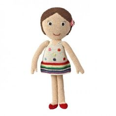 Laura - this lovely doll is hand made and unique and makes a perfect gift!