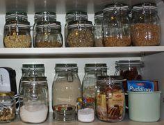 meine plastikfreie Küche Teil 2. - Vorratshaltung
