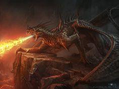 Bogdan MRK Demonic Dragon by Bogdan-MRK.deviantart.com on @DeviantArt