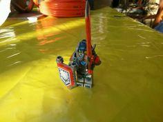 Verkaufe eine Lego nexo knights Figur Clay Moorigten aus den Set 70317.,Lego nexo knights Clay Moorigten in Delmenhorst - Delmenhorst