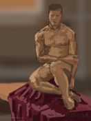 Oil on canvas or digital 2015 Ipad, Life Drawing, Figure Painting, Oil On Canvas, Statue, Drawings, Art, Sketches, Art Background