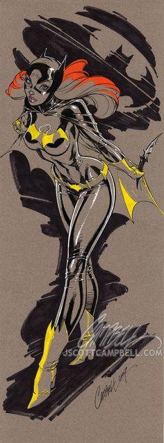 J. Scott does Batgirl