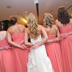 ADPi sisters and bridesmaids! Wedding