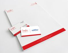 """Visiting Card and Letterhead for """"simplurr"""" Stationary Design, Letterhead, Corporate Identity, Working On Myself, New Work, Behance, Gallery, Check, Cards"""