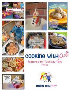 Cooking with Kids 18 ideas for cooking with kids