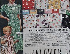 1937 Dimity Fabrics