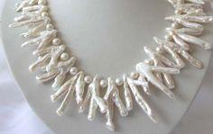 stunning classic huge 40mm baroque white reborn keshi freshwater cultured pearl US $20.99