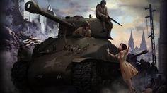 M4 SHERMAN TANK WALLPAPER