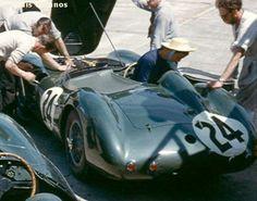 RSC Photo Gallery - Sebring 12 Hours 1958 - Aston Martin DBR1 no.24 - Racing Sports Cars