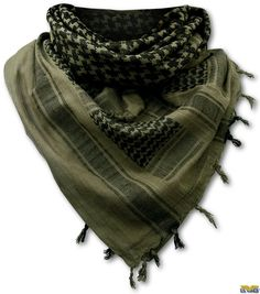 """Offers superb head and neck protection from the scorching desert sun and wind-blown sand. Superb head garment for military or tactical use. - 100% cotton - Size: 43"""" x 41"""" - Colors may vary slightly"""