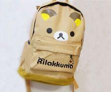 Cute Rilakkuma San-X Kiiroitori Chick Student Travel Schoolbag Backpack Bag 1 PC