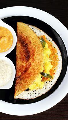 Vegetarian Recipes Videos, Healthy Indian Recipes, Indian Dessert Recipes, Vegetarian Breakfast Recipes, Vegan Vegetarian, Healthy Cooking Recipes, South Indian Chutney Recipes, South Indian Dosa Recipe, Healthy Food
