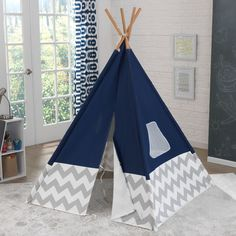 This entertaining Play Teepee is made for the indoor wilderness, and is just what your little adventurer needs for an imaginary getaway right at home. Age Range: 3+ Details This entertaining Play Teep