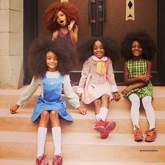 The Princesses via @define_yo_beautii #CurlKitGetFeatured #curlkit #naturalhair…