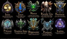League of Legend, lol, champions