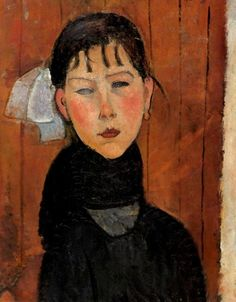 Marie, daughter of the people - Modigliani, 1918