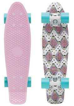 Penny Skateboards Buffy Complete Cruiser Skateboard - x Factory assembled by Penny Skateboards and ready to skate. Deck Size: x Includes trucks, wheels, bearings, hardware, and grip tape.