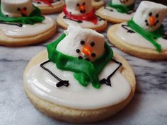 Melted Snowman Cookies by Project Pastry love!