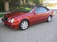2003 Mercedes-Benz CLK-Class 2 Dr CLK320 Convertible my new car except in black :)