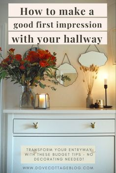 Hallway update: 6 ways to make a good first impression Hallway Decorating, Entryway Decor, Kids Table And Chairs, Diy Chair, Creating A Brand, Tile Patterns, Interior Design Inspiration, Home Decor Accessories, Things That Bounce