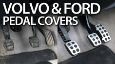 How to replace aluminum #pedal #covers in #Volvo #C30 #S40 #V50 #C70 #Ford #Focus MK2 & MK3. #tuning #cars