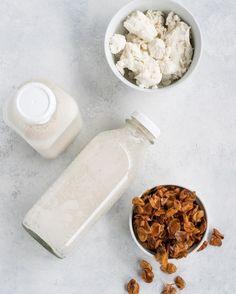 homemade nut milk recipe | pinterest @softcoffee