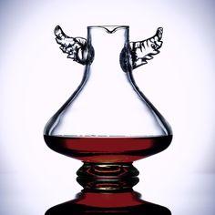 Icarus Winged Decanter from Australian artist Emma Klau #wine #decanter